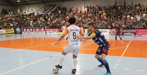626e5de4bc110 A Associação Marauense Futsal – AMF faz neste sábado (1º) um dos jogos mais  importantes da sua história. Em Passo Fundo